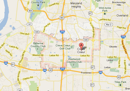 Appliance Repairs In Creve Coeur Mo Map Service Coverage Areas