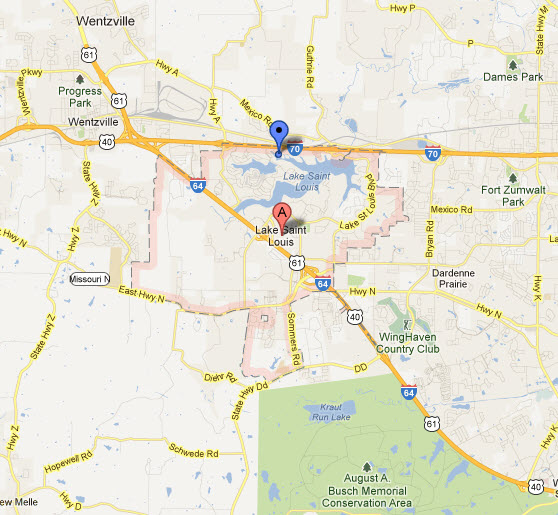 Appliance Repairs In Lake St Louis Mo Map Service Coverage Areas